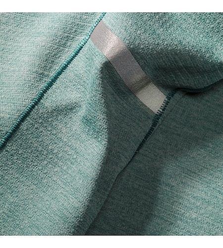 Cormac Zip Neck Shirt LS Robotica Fabric 2