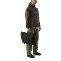 Courier Bag 15 Black Carry Handles