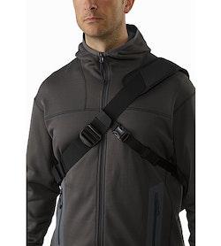 Courier Bag 15 Black Front Straps
