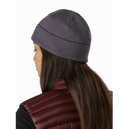 Covert Beanie Whiskey Jack Heather Back View