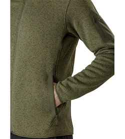 Covert Cardigan Arbour Heather Hand Pocket