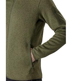 Covert Cardigan Arbour Heather Hand Pocket