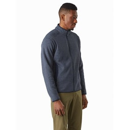 Covert Cardigan Exosphere Heather Front View