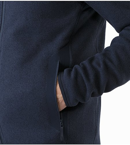 Covert Cardigan Kingfisher Hand Pocket