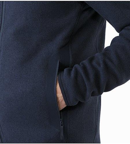 Cardigan Covert Kingfisher Poche repose-main