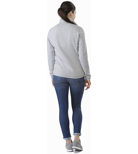 Covert Cardigan Women's Athena Grey Back View