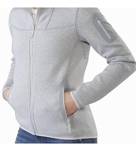 Covert Cardigan Women's Athena Grey External Pockets