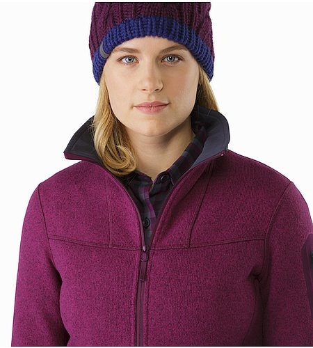 Covert Cardigan Women's Lt Chandra Open Collar