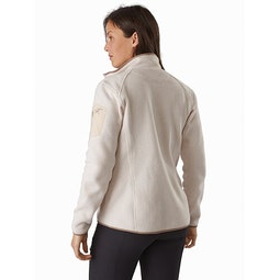 Covert Cardigan Women's Origami Heather Back View