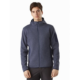 Covert Hoody Exosphere Heather Front View