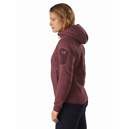 Covert Hoody Women's Inertia Heather Back View