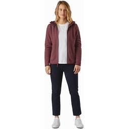 Covert Hoody Women's Inertia Heather Full View