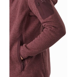 Covert Hoody Women's Inertia Heather Hand Pocket