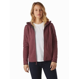 Covert Hoody Women's Inertia Heather Open View