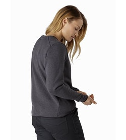 Covert Sweater Women's Whiskey Jack Heather Back View