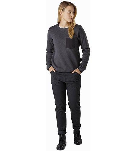 Arcteryx Covert Sweater Women arbour heather 2019 Longsleeve Shirt