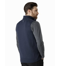 Covert Vest Tui Heather Back View