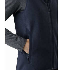 Covert Vest Tui Heather Hand Pocket