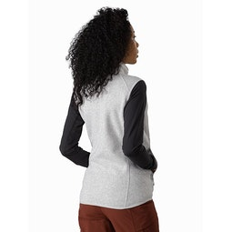 Covert Vest Women's Athena Grey Heather Back View