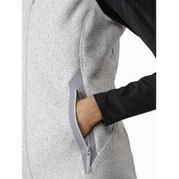Covert Vest Women's Athena Grey Heather Hand Pocket