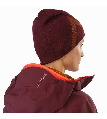 Crest Toque Crimson Rhassoul Back View