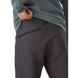 Creston AR Pant Carbon Copy External Pocket Back