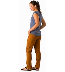 Creston Pant Women's Theanine Back View