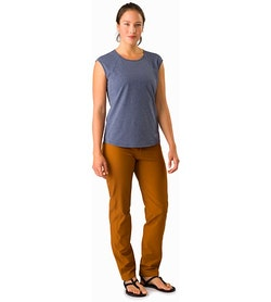 Creston Pant Women's Theanine Front View