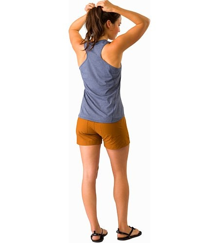 Creston Short 4.5 Women's Theanine Back View