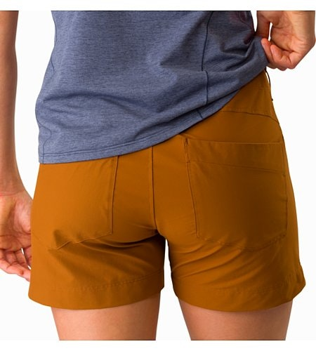 Creston Short 4.5 Women's Theanine External Pocket Back