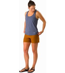 Creston Short 4.5 Women's Theanine Front View