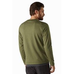 Dallen Fleece Pullover Symbiome Back View