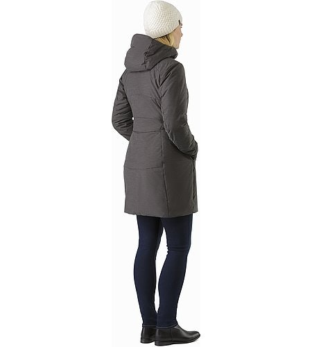 Darrah Coat Women's Carbon Copy Back View