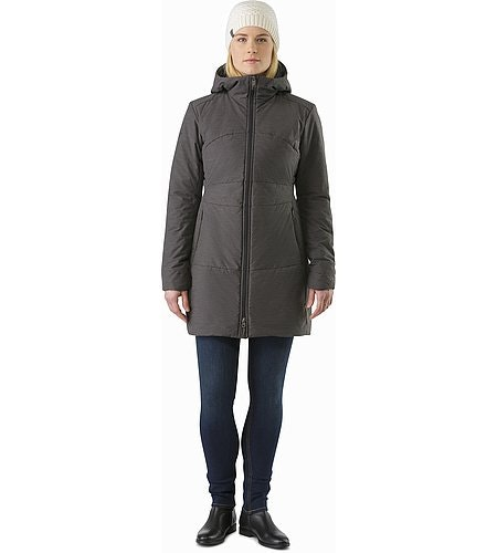Darrah Coat Women's Carbon Copy Front View