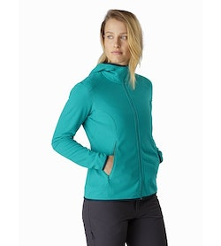 Delta LT Hoody Women's Illusion Front View