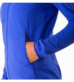 Delta LT Hoody Women's Iolite Hand Pocket