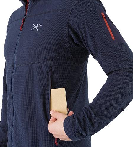 Delta LT Jacket Admiral Hand Pocket