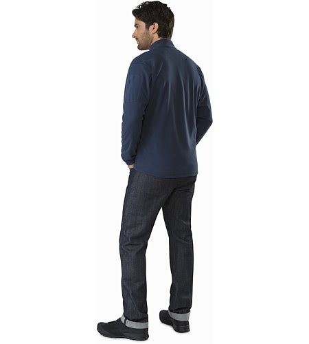 Delta LT Jacket Nocturne Back View