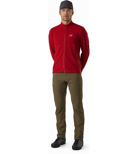 Delta LT Jacket Red Beach Front View