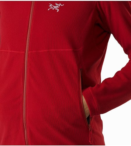 Delta LT Jacket Red Beach Hand Pocket