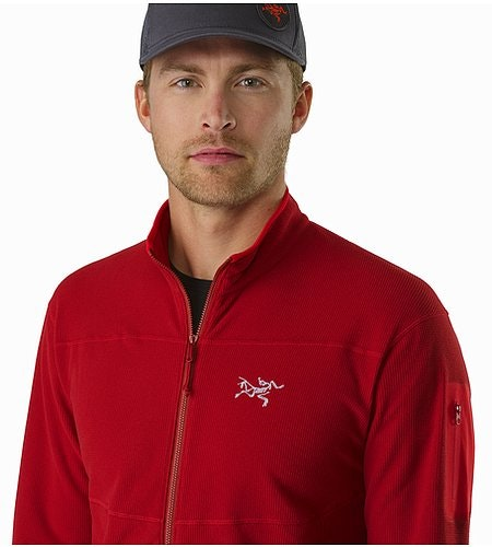 Delta LT Jacket Red Beach Open Collar