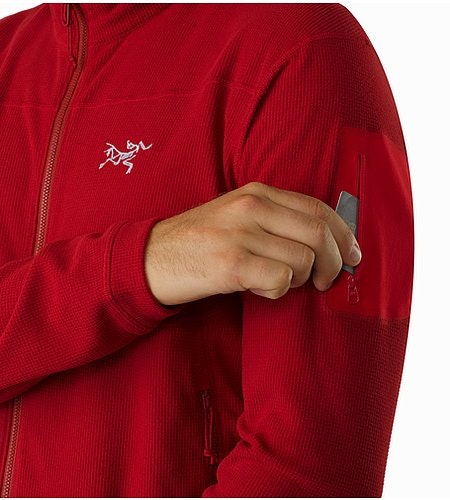 Delta LT Jacket Red Beach Sleeve Pocket