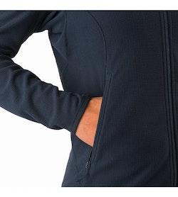 Delta LT Jacket Women's Black Sapphire Hand Pocket