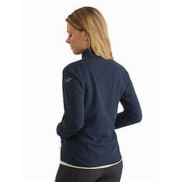 Delta LT Jacket Women's Cobalt Moon Back View