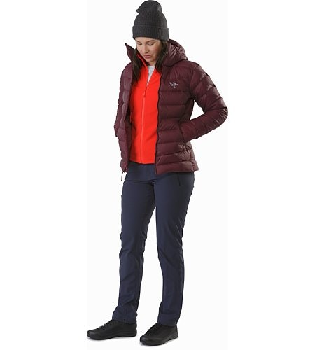 Delta LT Jacket Women's Hard Coral Outfit