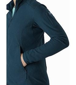 Delta LT Jacket Women's Labyrinth Hand Pocket