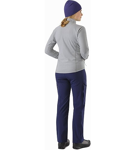 Delta LT Jacket Women's Smoke Back View 2