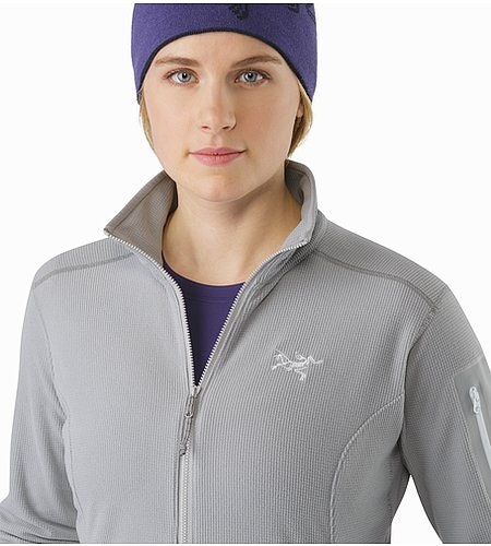 Delta LT Jacket Women's Smoke Open Collar 2