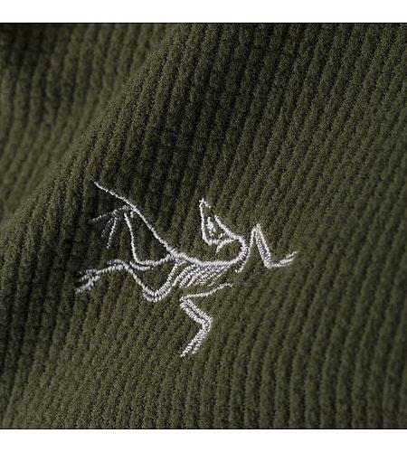 Delta LT Zip Neck Gwaii Fabric Detail