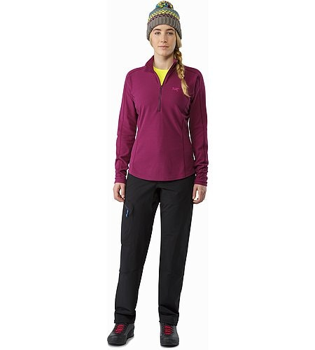 Delta LT Zip Neck Women's Lt Chandra Front View